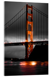 Acrylglasbild  Golden Gate - Denis Feiner