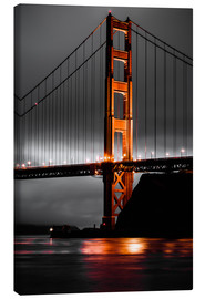 Leinwandbild  Golden Gate - Denis Feiner
