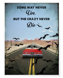 Premium-Poster Fear and Loathing Las Vegas (englisch)