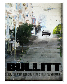 2ToastDesign - alternative bullitt retro film art
