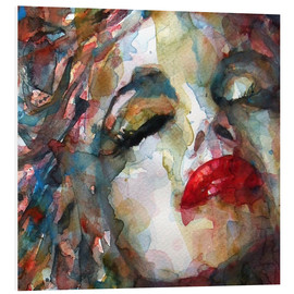 Hartschaumbild  Last Chapter, Marilyn Monroe  - Paul Lovering Arts