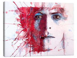 Leinwandbild  The Prettiest Star : David Bowie - Paul Paul Lovering Arts