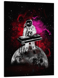 Alubild  Space Astronaut DJ - 2ToastDesign