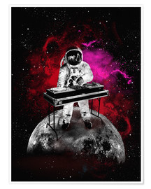 2ToastDesign - alternative space astronaut dj art