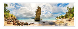 Michael Rucker - Traumstrand - Cathedral Cove Beach - Neuseeland