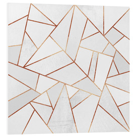 Forex  White Stone and Copper Lines - Elisabeth Fredriksson