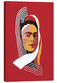 Leinwandbild  Frida Kahlo Abstract - Anna McKay