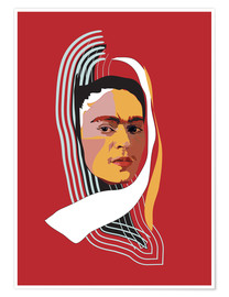 Anna McKay - Frida Kahlo Abstract