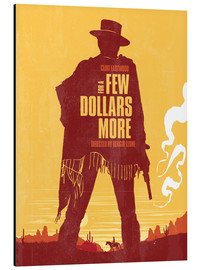 Alubild  For a few dollars more western movie inspired - Golden Planet Prints