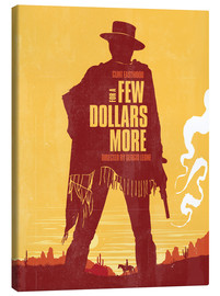Golden Planet Prints - For a few dollars more western movie inspired