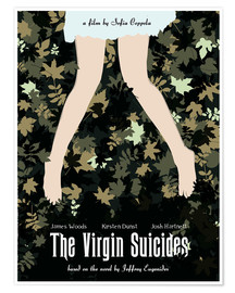 Golden Planet Prints - The virgin suicides movie inspired art