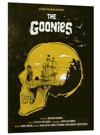 Hartschaumbild  The Goonies (Englisch) - Golden Planet Prints
