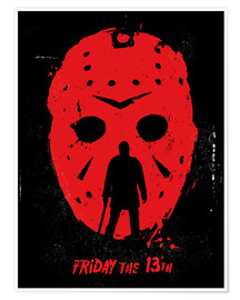 Premium-Poster Friday the 13th