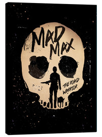 Golden Planet Prints - Mad Max the road warrior movie inspired art