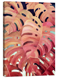Micklyn Le Feuvre - delicious monster coral painting