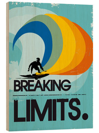 2ToastDesign - Retro Surfer Design breaking limits art