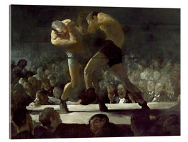 Acrylglasbild  Club Night - George Wesley Bellows