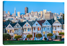 Leinwandbild  Painted Ladies, San Francisco