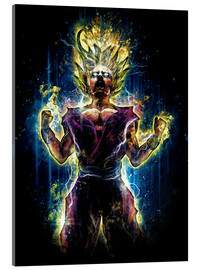 Acrylglas  Angry to the Second Level Gohan - Barrett Biggers
