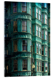 Acrylglasbild  Columbus Tower, San Francisco