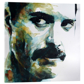 Acrylglasbild  Freddie Mercury - Paul Lovering Arts