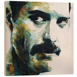 Holzbild  Freddie Mercury - Paul Lovering