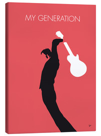Leinwandbild  No002 MY THE WHO Minimal Music poster - chungkong