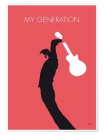 Premium-Poster  No002 MY THE WHO Minimal Music poster - chungkong