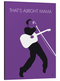 Alubild  No021 MY ELVIS Minimal Music poster - chungkong