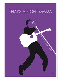 Premium-Poster  Elvis - That's Alright Mama - chungkong