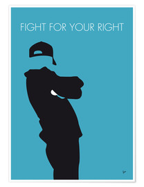 Premium-Poster  Beastie Boys - Fight For Your Right - chungkong