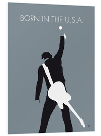 Hartschaumbild  Bruce Springsteen - Born In The U.S.A. - chungkong