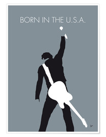 Premium-Poster Bruce Springsteen - Born In The U.S.A.
