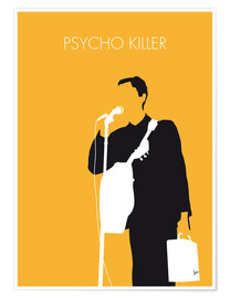 Premium-Poster Talking Heads - Psycho Killer