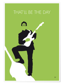 chungkong - No056 MY BUDDY HOLLY Minimal Music poster