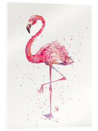 Acrylglasbild  Fancy Flamingo - Sillier Than Sally