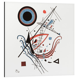 Alubild  Lithographie blau - Wassily Kandinsky