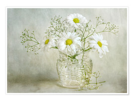 Premium-Poster Still life with Chrysanthemums