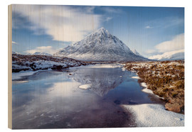 Karen Deakin - Buachaille Etive Mor and River Coupall, Glen Coe (Glencoe), Highland region, Scotland, United Kingdo