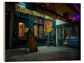 Jim Nix - Shakespeare and Company bookstore, Paris, France, Europe