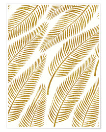 Premium-Poster Golden Palm