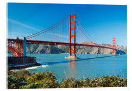 Acrylglasbild  Golden Gate Bridge in San Francisco