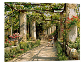 Acrylglas  Pergola in Ravello - Peder Mork Mönsted
