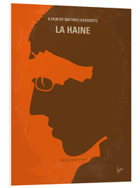 chungkong - No734 My La Haine minimal movie poster