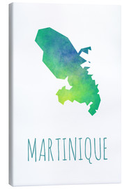 Leinwandbild  Martinique - Stephanie Wittenburg