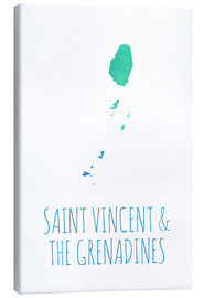 Leinwandbild  Saint Vincent & the Grenadines - Stephanie Wittenburg