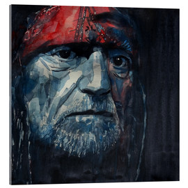 Acrylglasbild  Always On My Mind - Willie Nelson  - Paul Lovering Arts