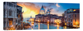 Jan Christopher Becke - Canal Grande Panorama in Venedig, Italien