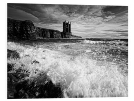 Hartschaumbild  Keiss Castle, Wick, Schottland - Martina Cross