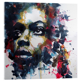 Acrylglasbild  Nina Simone : My Baby Just Cares For Me - Paul Lovering